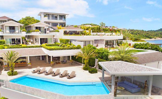 Fabulous Beachfront Luxury Villa for Rent in Plai Laem