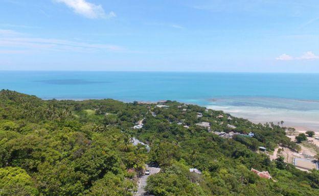 Sensational Panoramic Samui Sea view Land Plot