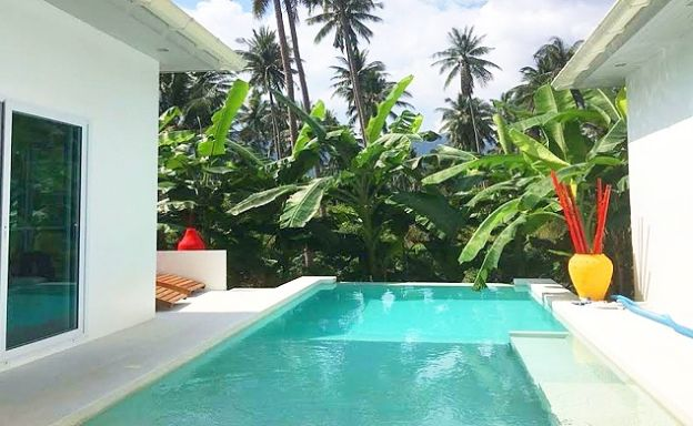 Tropical 3 Bedroom Private Pool Villa in Lamai
