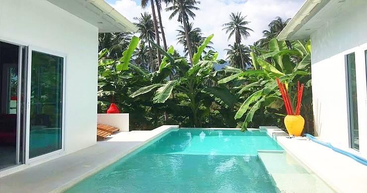 Tropical 3 Bedroom Private Pool Villa in Lamai -1