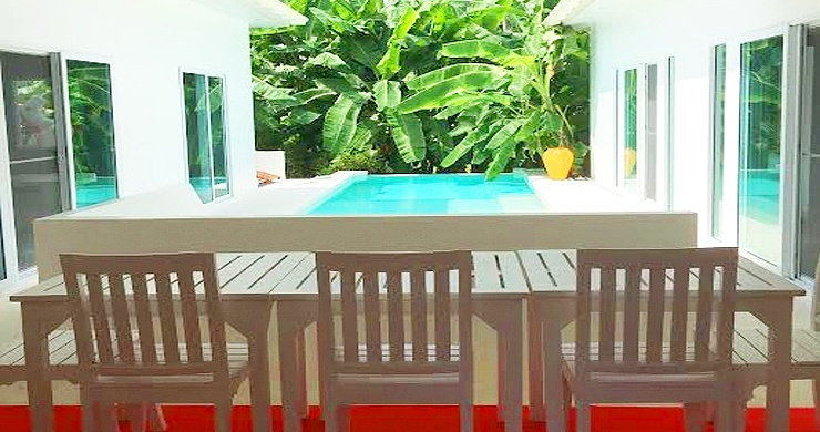 Tropical 3 Bedroom Private Pool Villa in Lamai -3