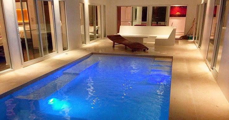 Tropical 3 Bedroom Private Pool Villa in Lamai -15