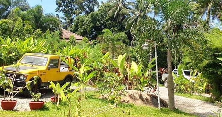 Tropical 3 Bedroom Private Pool Villa in Lamai -18