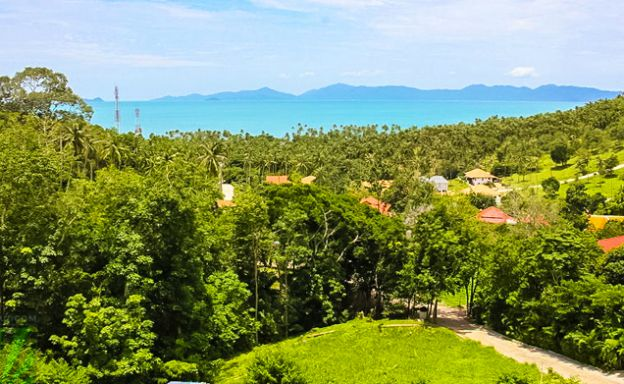 Affordable Sea view Land Plots for Sale in Bang Por
