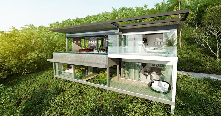 Exclusive New Sea View Pool Villas in Chaweng Noi-1