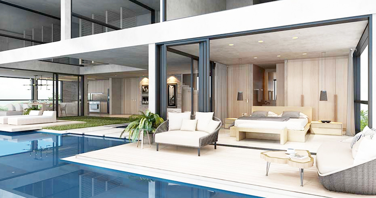 Exclusive New Sea View Pool Villas in Chaweng Noi-7