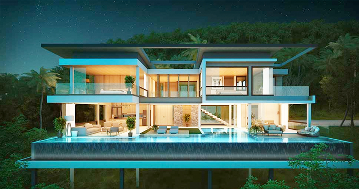 Exclusive New Sea View Pool Villas in Chaweng Noi-15