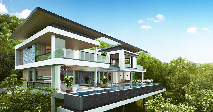 Exclusive New Sea View Pool Villas in Chaweng Noi-4