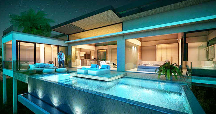 Exclusive New Sea View Pool Villas in Chaweng Noi-14