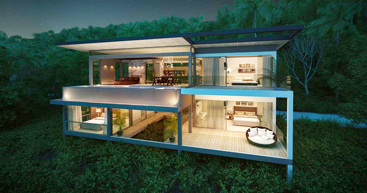 Exclusive New Sea View Pool Villas in Chaweng Noi-16