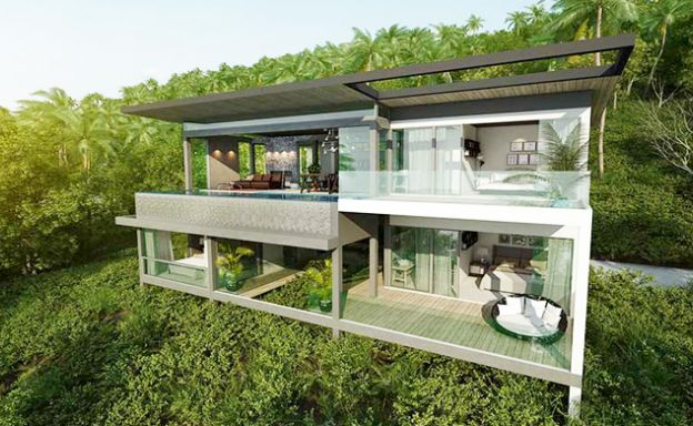 Exclusive New Sea View Pool Villas in Chaweng Noi