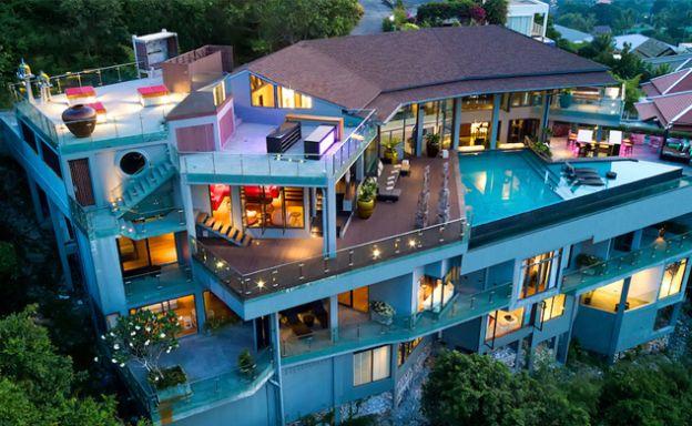 Epic 8 Bedroom Sea View Luxury Pool Villa in Plai Laem