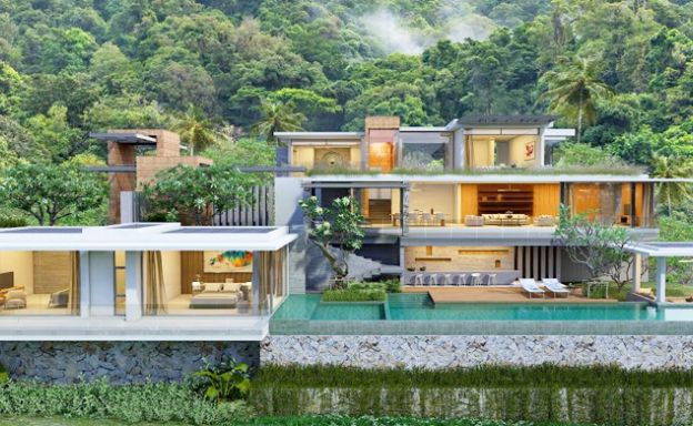 Exclusive 3 Bedroom Sea View Villa in Chaweng Noi