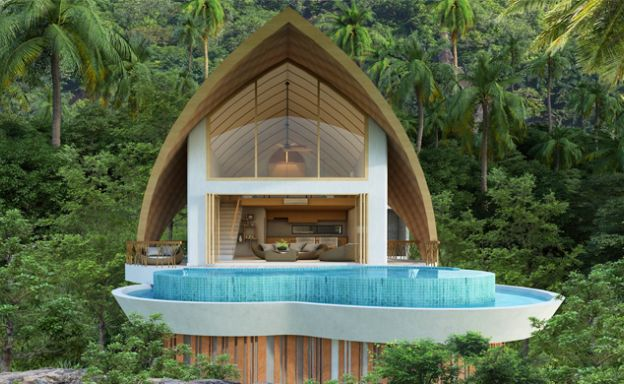 Unique Luxury Sea View Pool Villas in Chaweng Noi