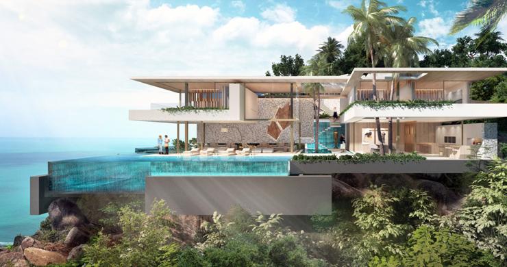 Ultimate Luxury Sea View Villas on Chaweng Noi Peak-3