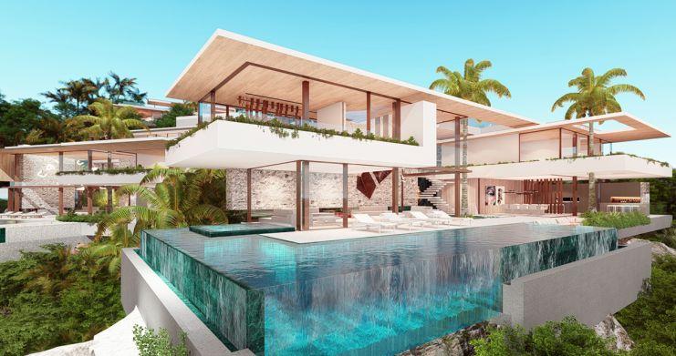 Ultimate Luxury Sea View Villas on Chaweng Noi Peak-1