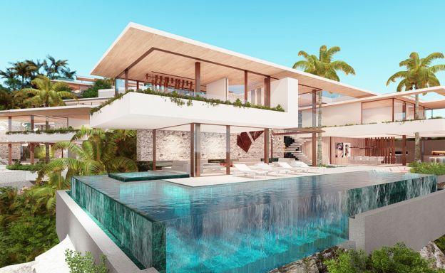 Ultimate Luxury Sea View Villas on Chaweng Noi Peak