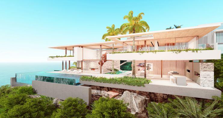 Ultimate Luxury Sea View Villas on Chaweng Noi Peak-2