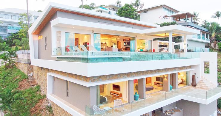 Ultra Modern 6 Bedroom Sea View Villa in Chaweng Noi-18