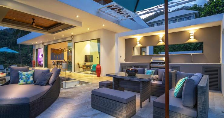 Ultra Modern 6 Bedroom Sea View Villa in Chaweng Noi-21