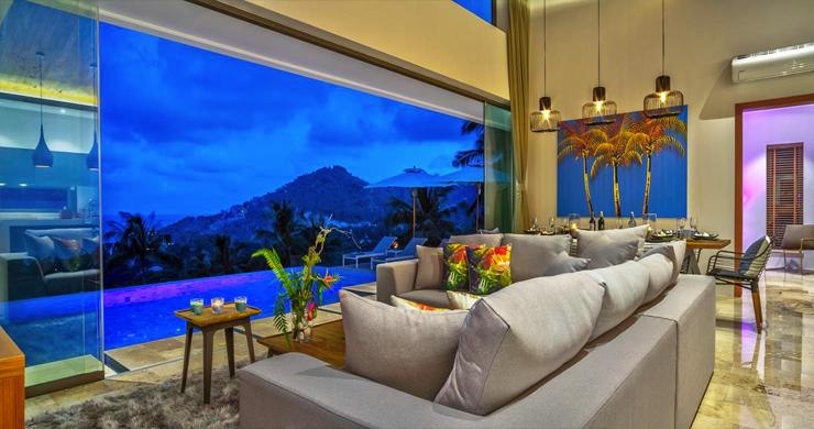 Ultra Modern 6 Bedroom Sea View Villa in Chaweng Noi-22