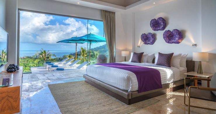 Ultra Modern 6 Bedroom Sea View Villa in Chaweng Noi-12
