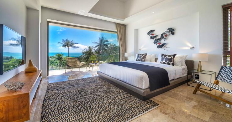 Ultra Modern 6 Bedroom Sea View Villa in Chaweng Noi-11