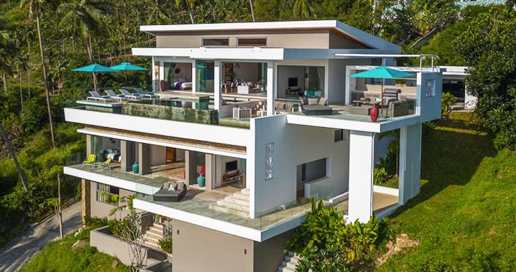Ultra Modern 6 Bedroom Sea View Villa in Chaweng Noi-14
