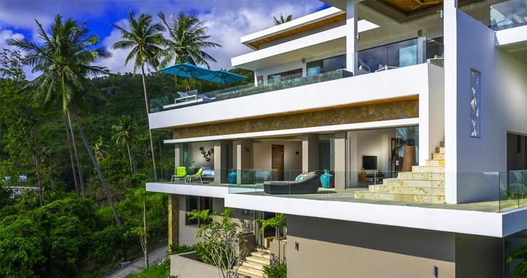 Ultra Modern 6 Bedroom Sea View Villa in Chaweng Noi-7