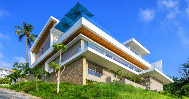 Ultra Modern 6 Bedroom Sea View Villa in Chaweng Noi-4