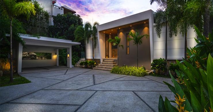 Ultra Modern 6 Bedroom Sea View Villa in Chaweng Noi-23