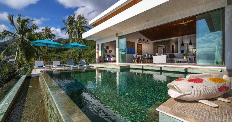 Ultra Modern 6 Bedroom Sea View Villa in Chaweng Noi-8