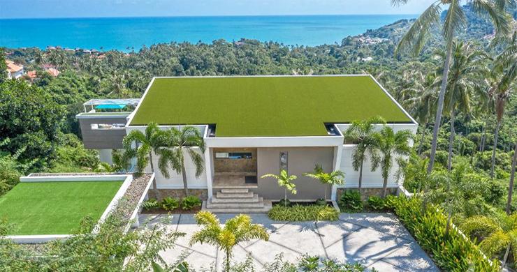 Ultra Modern 6 Bedroom Sea View Villa in Chaweng Noi-6
