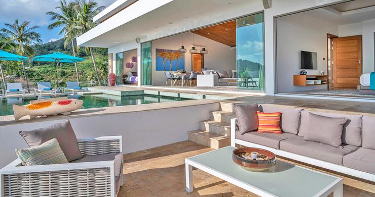 Ultra Modern 6 Bedroom Sea View Villa in Chaweng Noi-3
