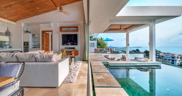 Ultra Modern 6 Bedroom Sea View Villa in Chaweng Noi-1