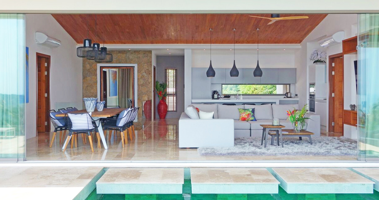 Modern 6 Bed Sea View Villa for Sale in Chaweng Noi-3