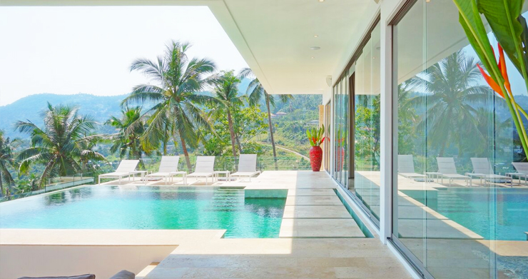 Modern 6 Bed Sea View Villa for Sale in Chaweng Noi-2