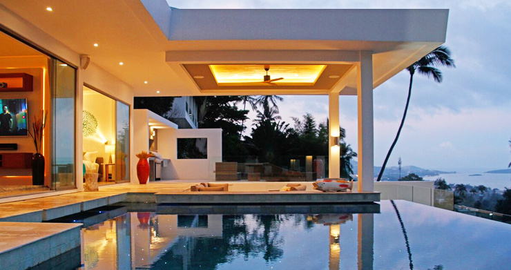 Modern 6 Bed Sea View Villa for Sale in Chaweng Noi-19