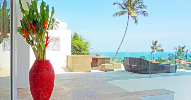 Modern 6 Bed Sea View Villa for Sale in Chaweng Noi-5