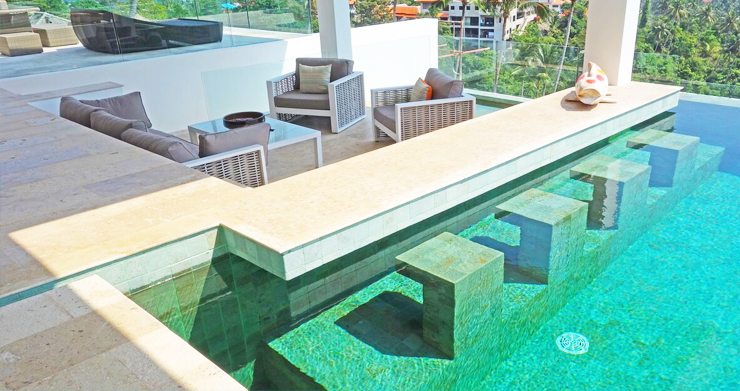 Modern 6 Bed Sea View Villa for Sale in Chaweng Noi-7