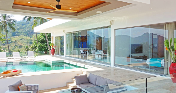 Modern 6 Bed Sea View Villa for Sale in Chaweng Noi-4
