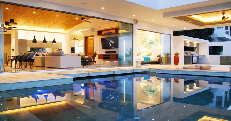 Modern 6 Bed Sea View Villa for Sale in Chaweng Noi-21