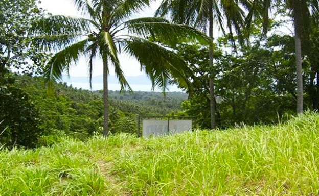 New Panoramic Sea View Land Plot on Maenam Hillside