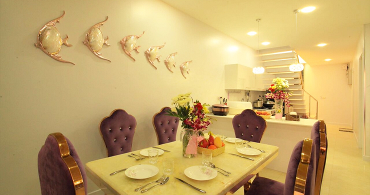 New Luxury Sea View Duplex Villa for Sale in Plai Laem-9