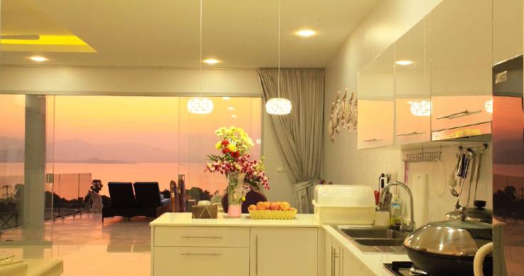 New Luxury Sea View Duplex Villa for Sale in Plai Laem-7
