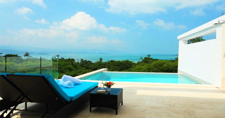 New Luxury Sea View Duplex Villa for Sale in Plai Laem-1