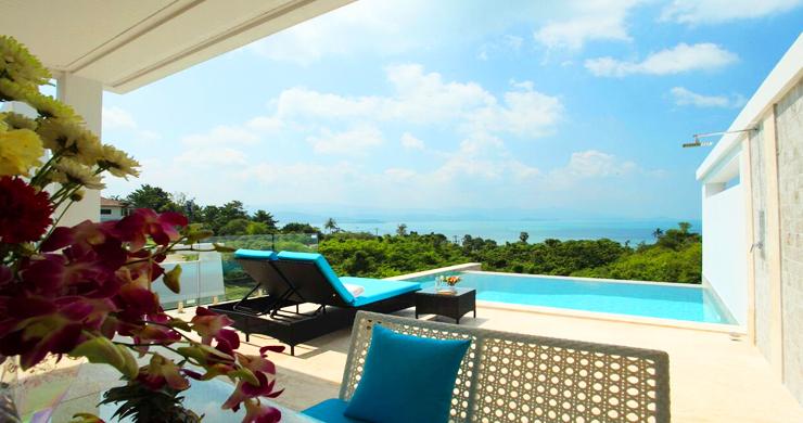 New Luxury Sea View Duplex Villa for Sale in Plai Laem-14