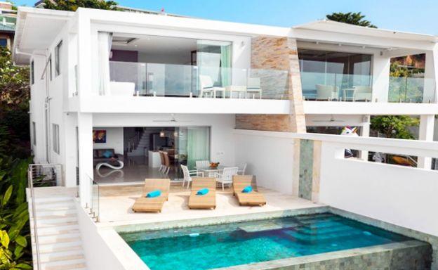 New Luxury Sea View Duplex Villa for Sale in Plai Laem