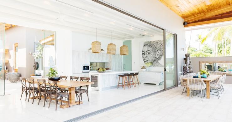 Contemporary 6 Bedroom Beach Front Villa in Laem Sor-4