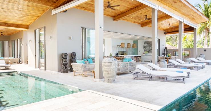 Contemporary 6 Bedroom Beach Front Villa in Laem Sor-2